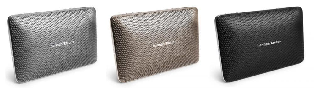 El esquire 2 de harman kardon está disponible en tres colores