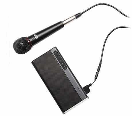 el creative iroar go funciona con microfono