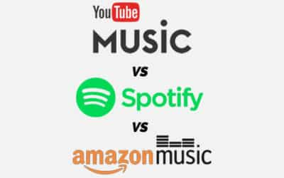 AMAZON MUSIC VS. YOUTUBE MUSIC VS. SPOTIFY PREMIUM