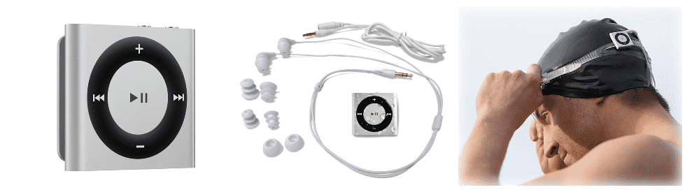 ipod shuffle impermeable