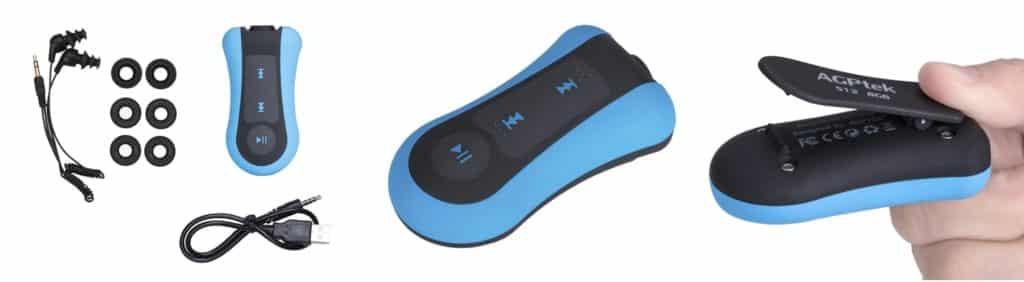 MP3 acuatico para nadar
