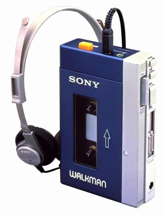primer walkman sony del año 1979