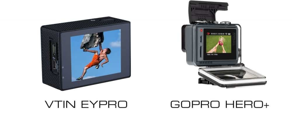 vtin eypro vs gopro + opiniones review