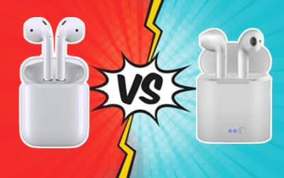 APPLE AIRPODS ORIGINALES VS MEJORES COPIAS