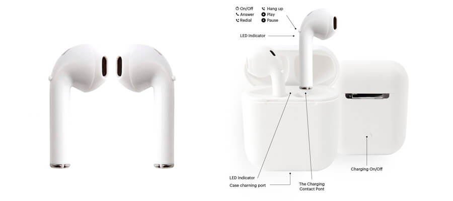 copias baratas apple airpods i9